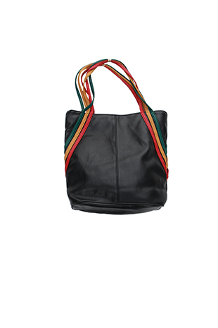 real leather tod bag